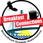 riverbend growth association breakfast connections logo